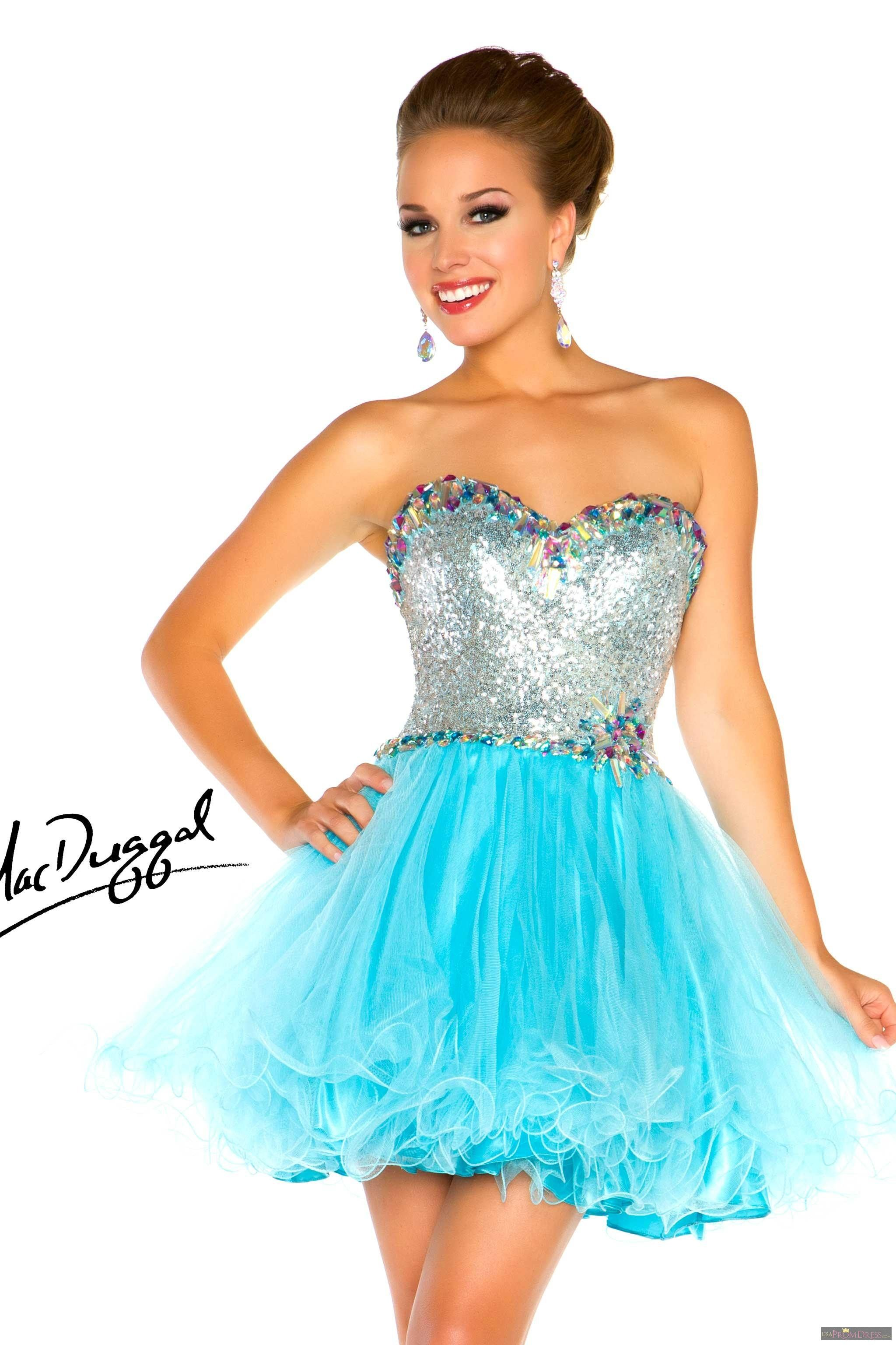 Mac duggal style n sassy in sequins when you wear this