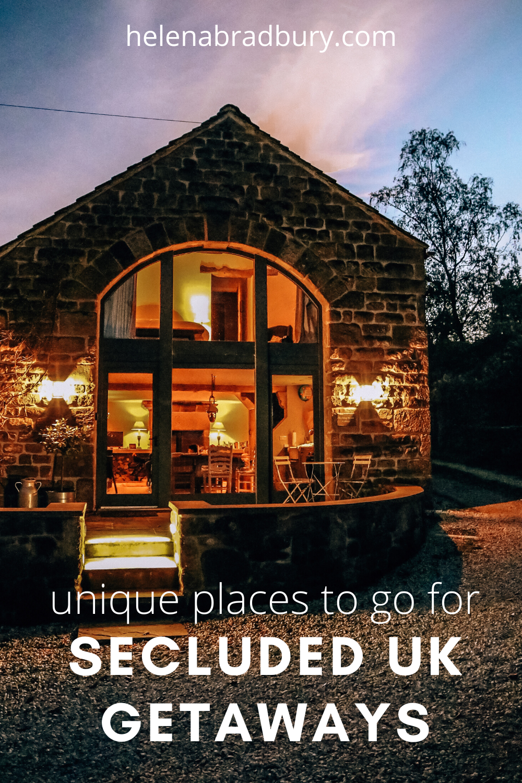 6 Unique Places To Stay For Secluded Uk Getaways Cabin Trip Weekend Breaks Uk Getaways