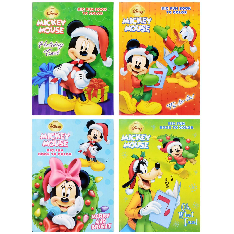 Dollartree Com Bulk Bendon Disney Christmas Coloring Books 96 Pages Christmas Coloring Books Disney Christmas Coloring Books