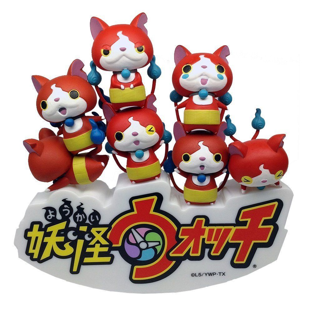NEW Yokai Watch Tsumutsumu Yo Kai Youkai From Japan Anime Jibanyan 10 Figures