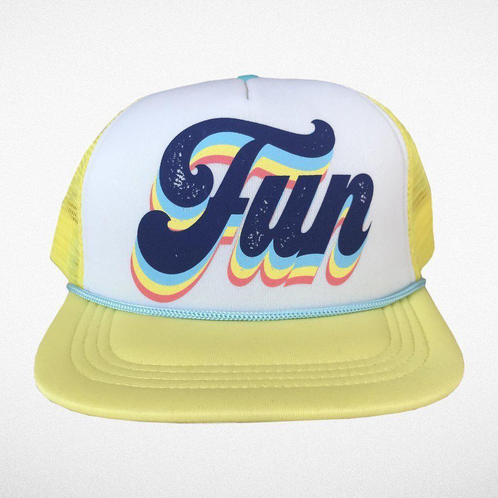 584de13e Fun Trucker Hat in 2019   Products   Hats, Baseball hats, Snapback