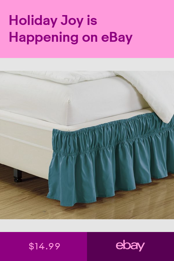 Bed Skirts Home Garden Ebay Bedskirt Ruffle Bed Skirts