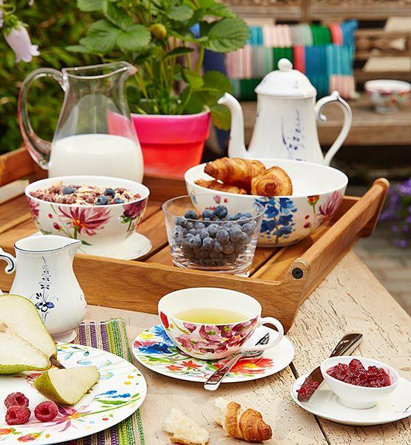 mariefleur by villeroy boch floral dinnerware tea sets pinterest dinnerware flatware. Black Bedroom Furniture Sets. Home Design Ideas