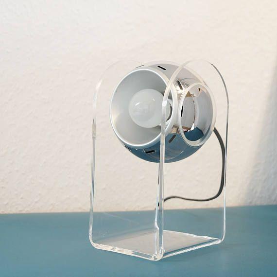 Reserviert Arteluce Model 540 Touch Lampe 60er Jahre Light Table Fan Home Appliances