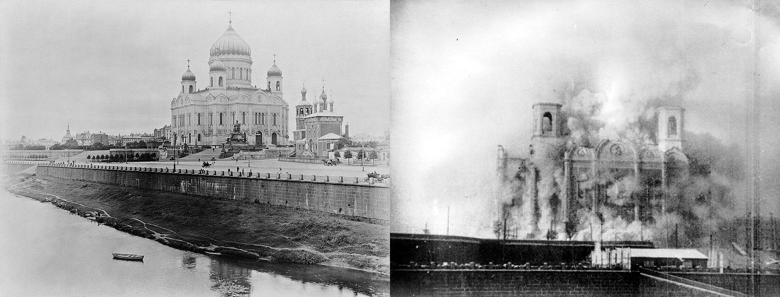 Today History Cathedral of Christ the Saviour in Moscow was destroyed by an  order of Joseph Stalin 1931 | Today in history, Russia, Russia news