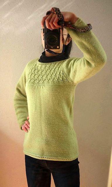 Free Pattern: Sage Blouse  Knit Sweater #2dayslook #KnitSweater #watsonlucy723 #lily25789 #anoukblokker     www.2dayslook.com