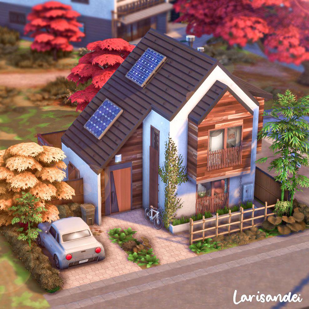 Modern home in Shinrinyoku