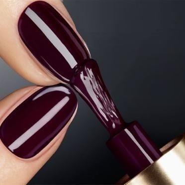 Dark Plum Nail Color Love Plum Nails Dark Nails Nail Polish