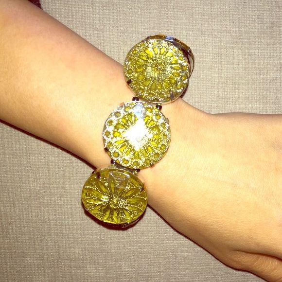 Catherine Stein CSD gold fashion jewelry bracelet Brand new with tags. Beautiful stretchy bracelet Catherine Stein  Jewelry Bracelets