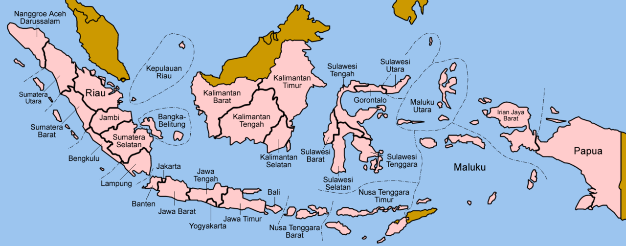 From Wikiwand Peta Indonesia Indonesia Strait Of Malacca West Kalimantan