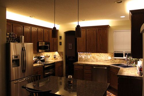 kitchen cabinet counter led lighting strip smd 3528 300 leds 20 ft rh pinterest com