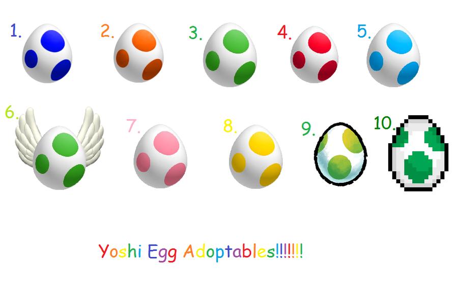 Yoshi Egg 3d