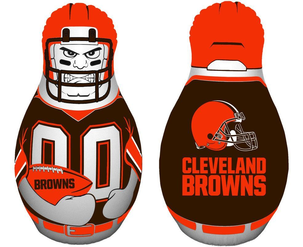 Cleveland Browns Tackle Buddy Punching Bag - New UPC