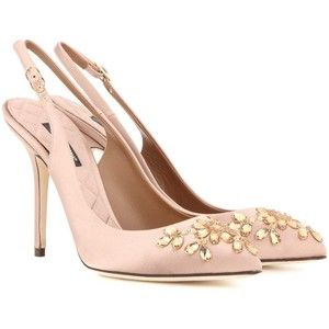 clearance enjoy Dolce & Gabbana embellished slingback pumps outlet browse cheap extremely discount wholesale price sale footlocker dnjEDF5XN4