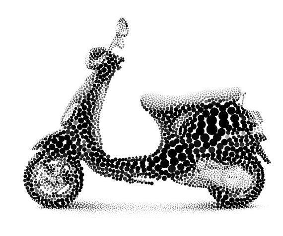 Scooter art
