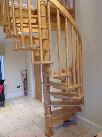 Best Bespoke Wooden Spiral Staircases Spiral Staircase 640 x 480