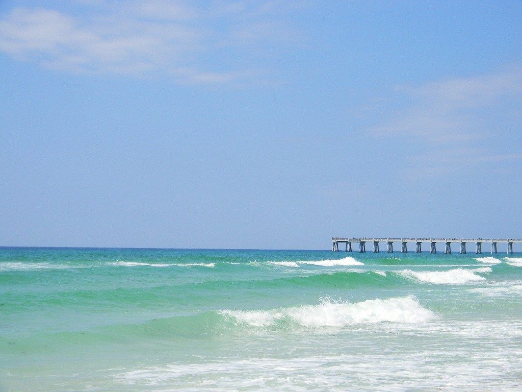Navarre Beach, FL. Crystal clear water, white sand & small-town  atmosphere...everything a person could want! | Beach, Navarre beach, Beach  rentals