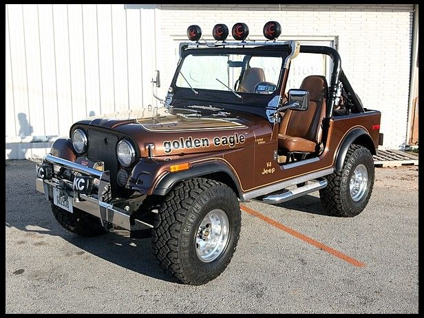 1979 Jeep Cj 7 Golden Eagle 304 4bbl V8 727 Automatic 3 31 Axles