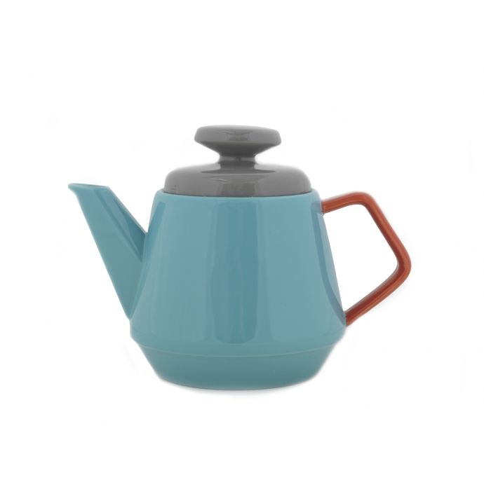 Pop Teapot Turquoise. Very beautiful design, 3 great colours, fabulous teapot. Comes in a box.