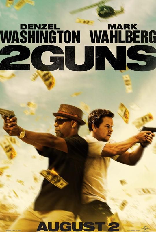 Denzel Washington Gets Divorce | New Movie Trailer | 2 Guns (Starring Denzel Washington & Mark Wahlberg ...
