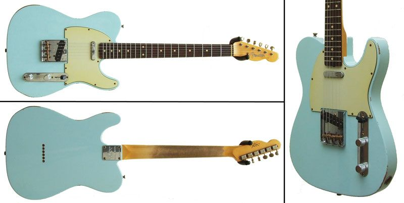 sonic blue tele what 39 s not to love guitars guitarras. Black Bedroom Furniture Sets. Home Design Ideas