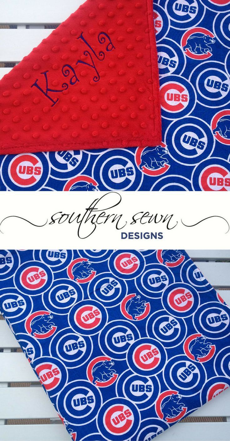 Every baby deserves their very own personalized blanket or lovey every baby deserves their very own personalized blanket or lovey chicago cubs lightweight cotton print negle Images