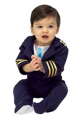 6a99b5bd7 Amazon.com  Aeromax AAP-ROMP Jr. Airline Pilot Size 6 to 12 Months ...