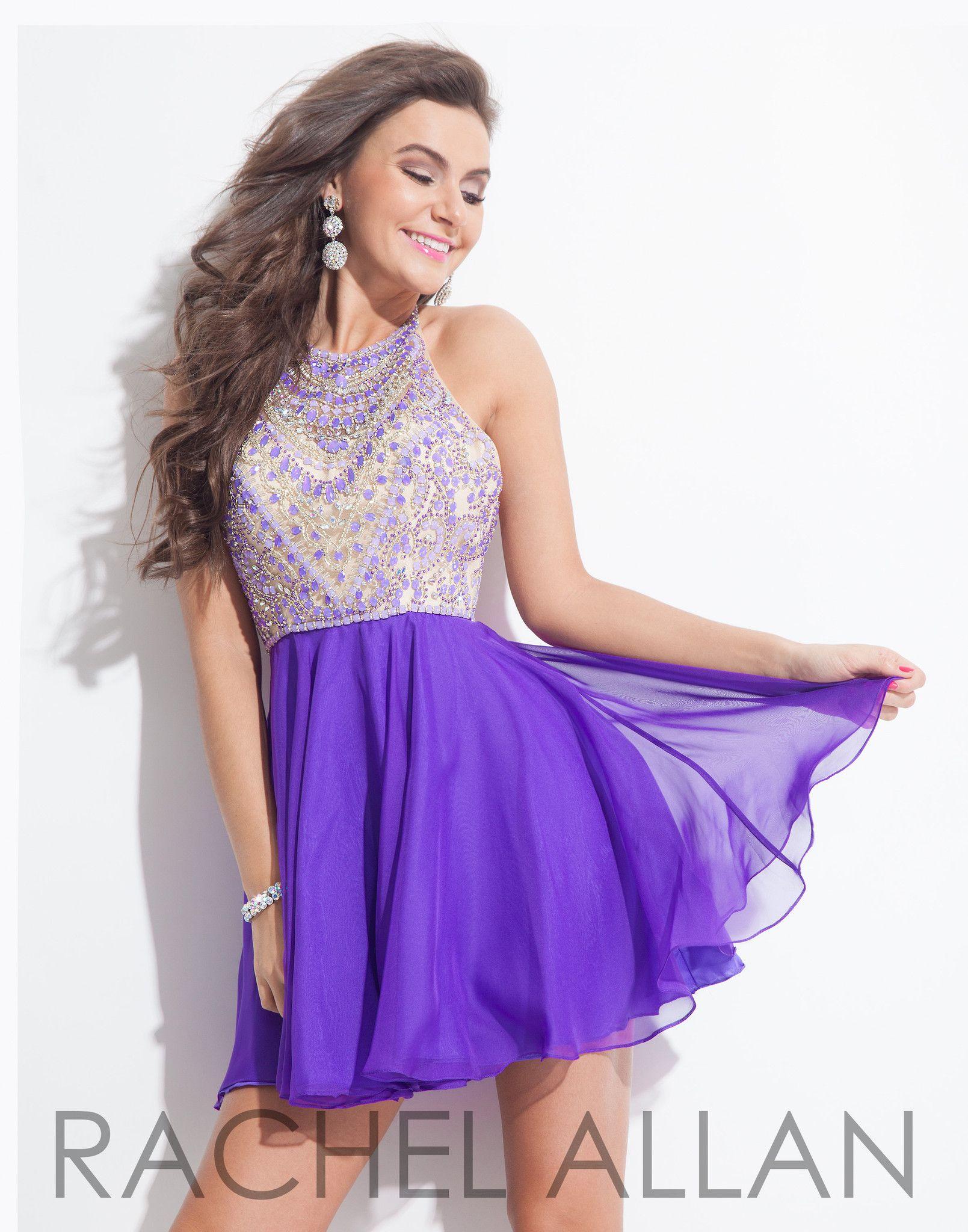 Rachel Allan 4011 Purple Homecoming Dress | DRESSES | Pinterest ...