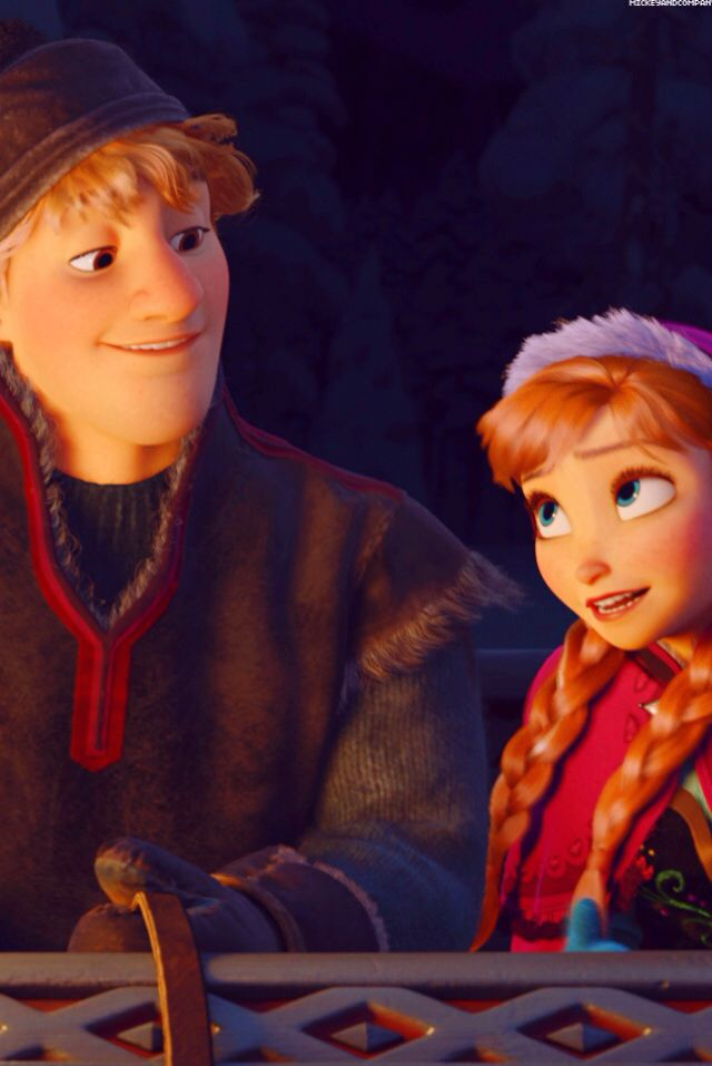 Frozen - anna and kristoff - disney wallpaper | Disney ...