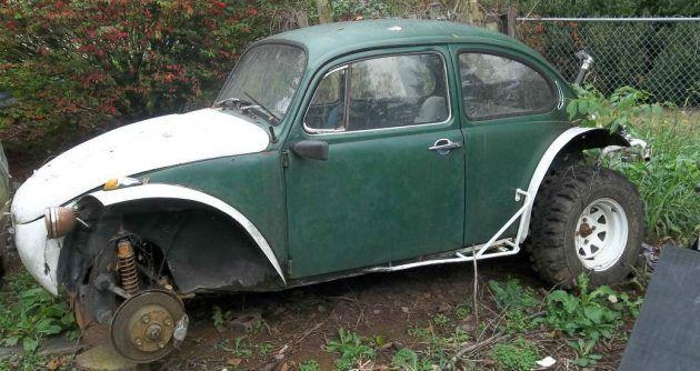 Carolina Yard Art: VW Baja Bug Project | Baja bug, Vw baja ...