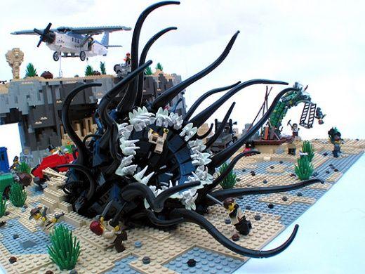 Lego creatures | Fun is 2 cool | LEGOs | Pinterest | Lego, Cool ...