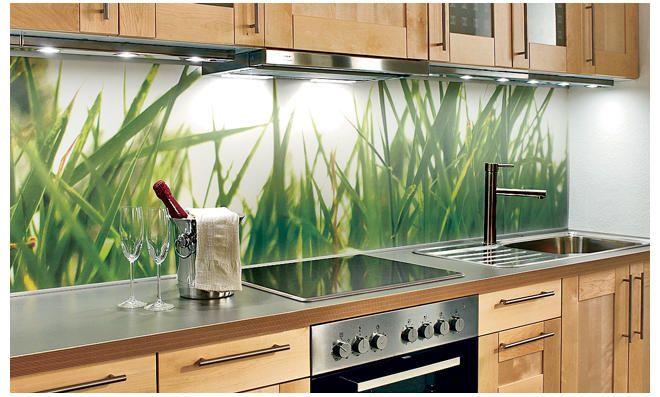 Küchenrückwand Plexiglas Kitchen backsplash, Wand and Interiors - küchenspiegel aus holz