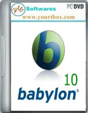 Babylon Pro Dictionary 10 Software - FREE DOWNLOAD - Free Full