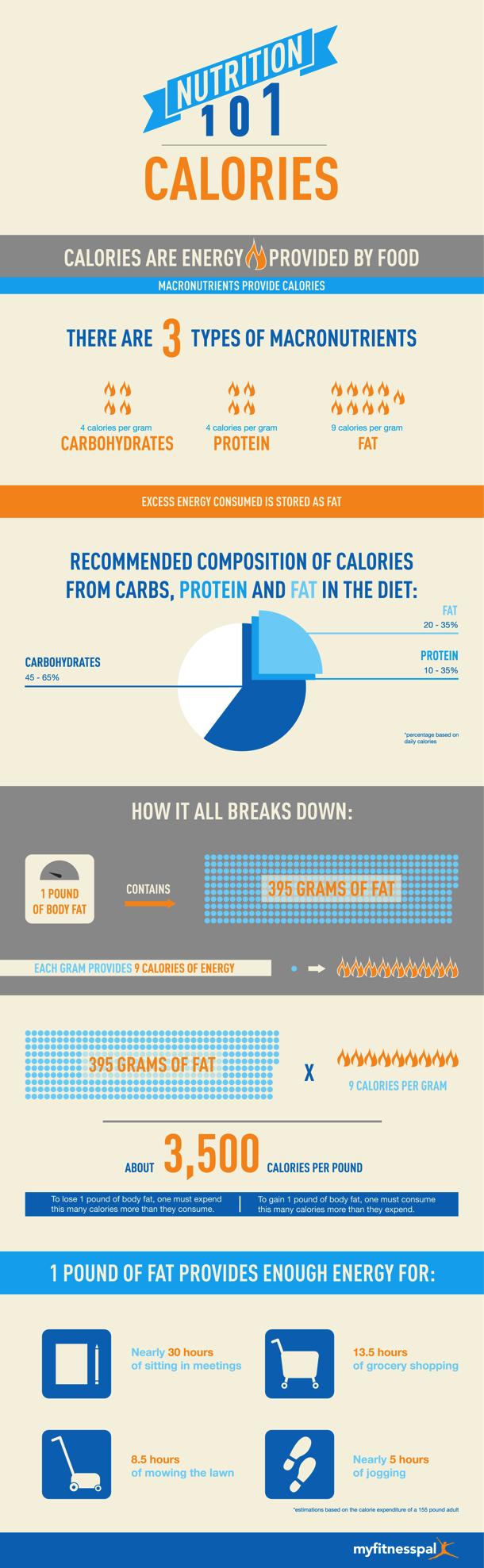 Nutrition 101: Calories [infographic]