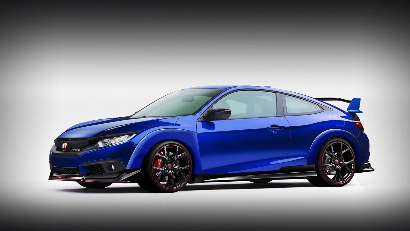 New Honda Civic Coupe Gets Dressed In Type R Livery Carscoops
