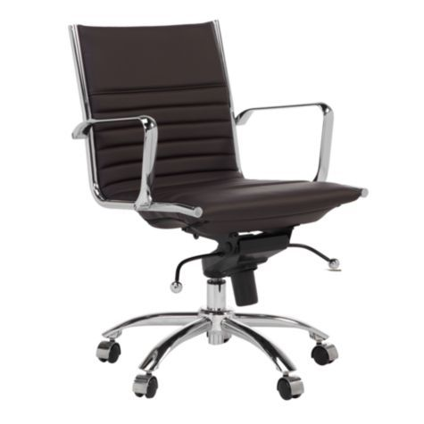 Matching Chair With Desk Malcolm Office Chair Brown From Z