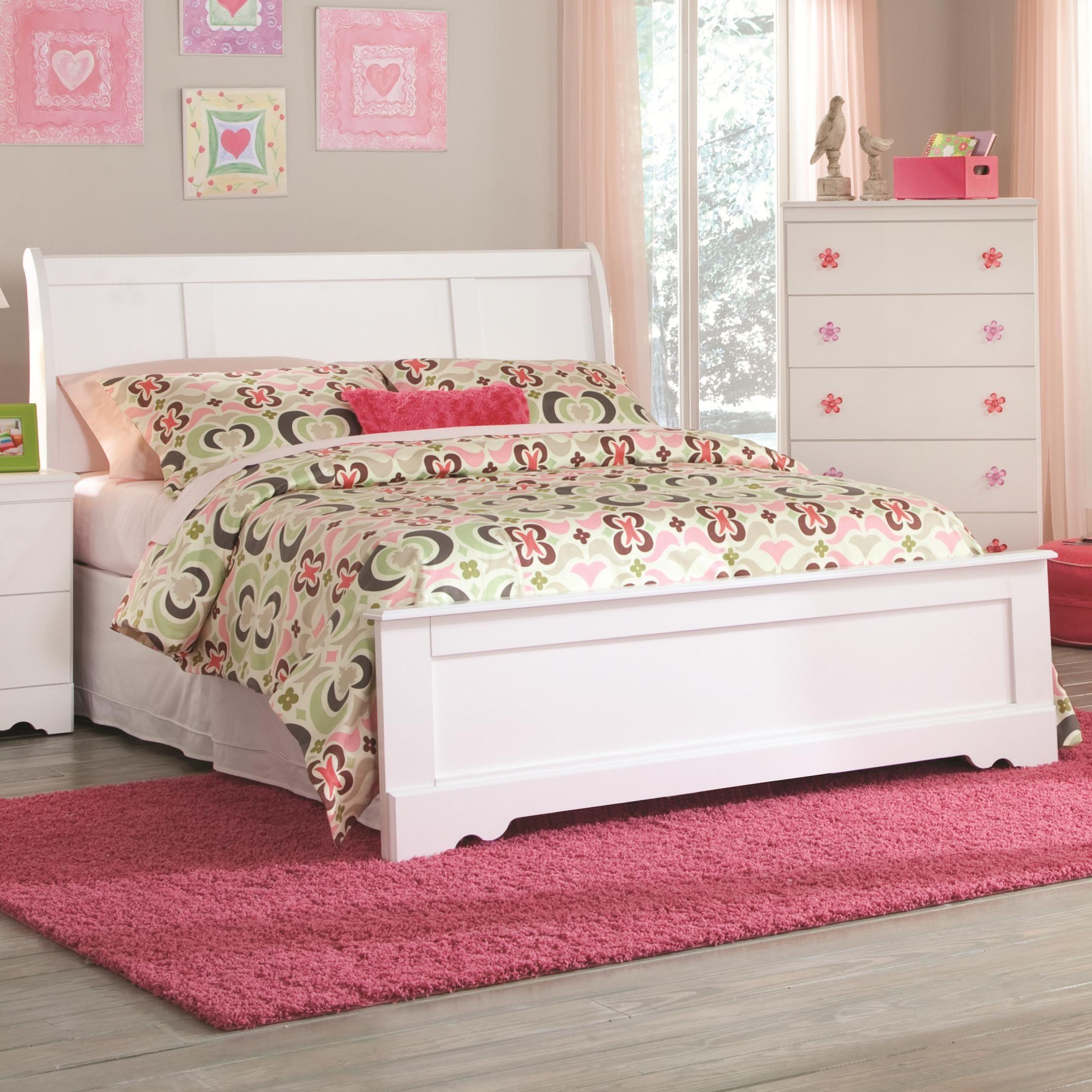Savannah Twin Sleigh Bed by Kith Furniture Twin sleigh