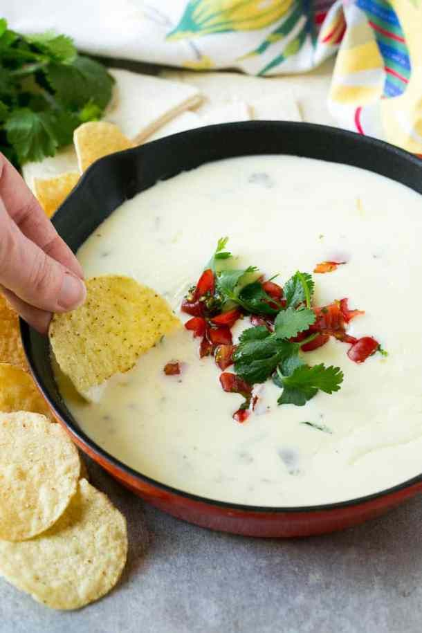 White Queso Dip White Queso Dip Recipe Dip Recipes