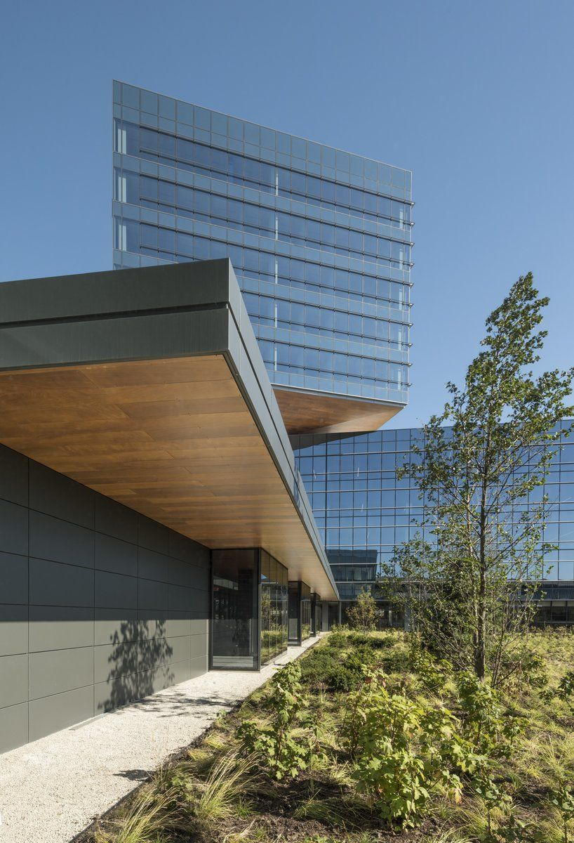 The new Zurich North America Headquarters is designed to