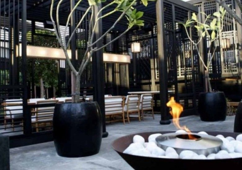 Fireplace Ideas Design Inspiration Outdoor Restaurant Backyard Seating Outdoor Fire