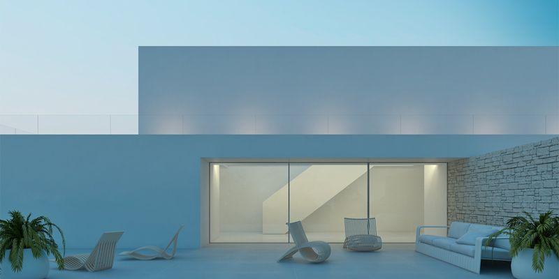 Gallardo llopis arquitectos proyecto vivienda en ibiza casas fachadas - Arquitectos en ibiza ...
