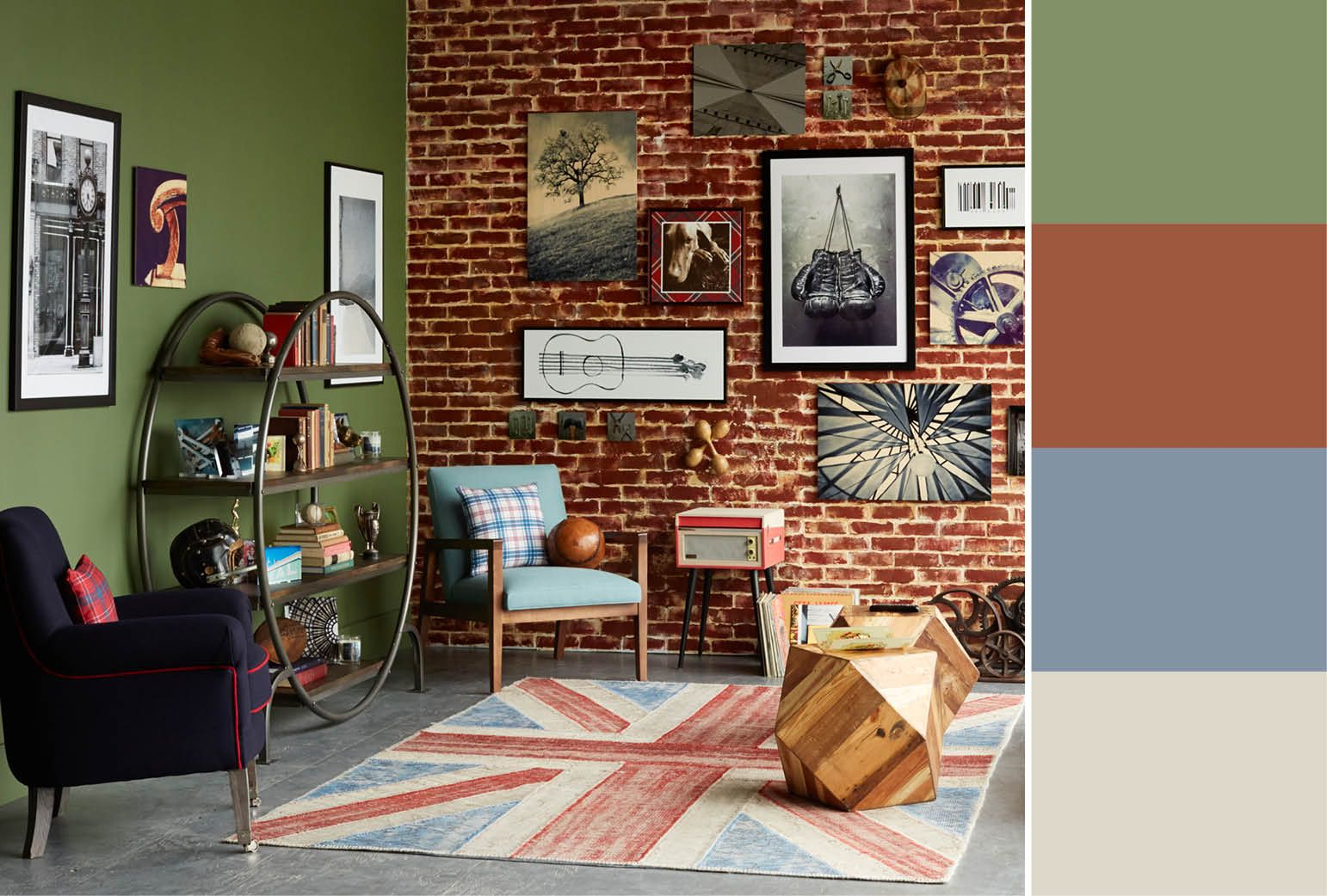 30 Accent Wall Color Combinations To Match Any Style