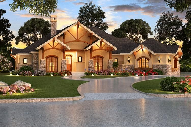 Beautiful ranch style house