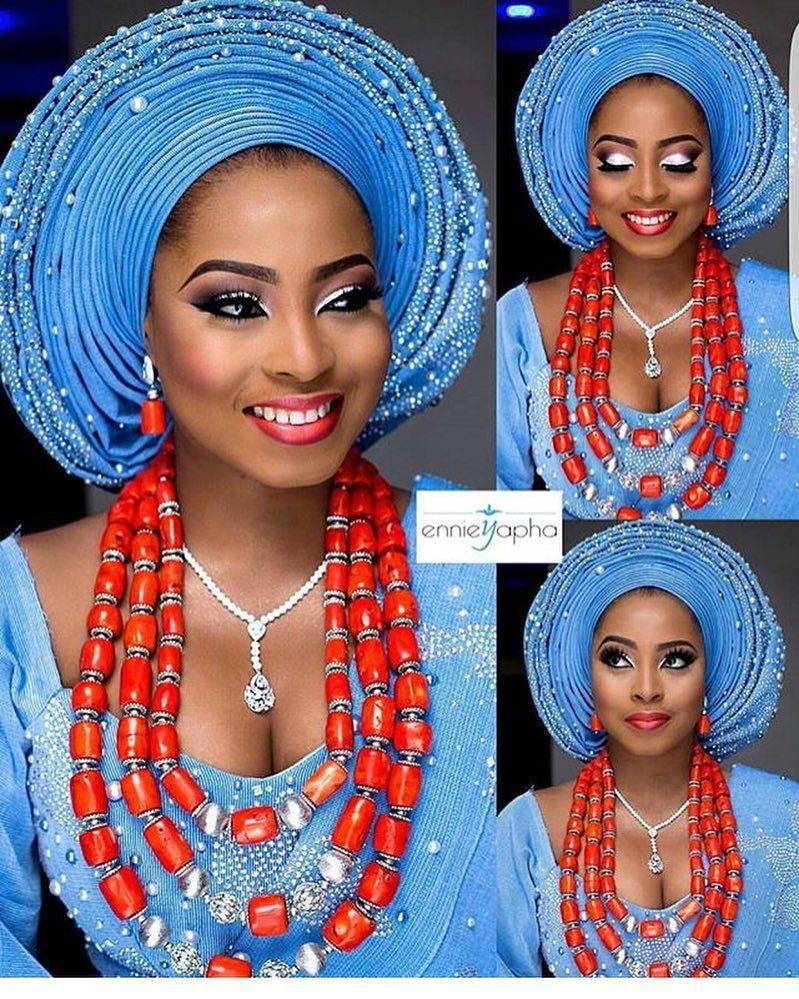 Regal asoebi asoebispecial speciallovers makeup wedding bride