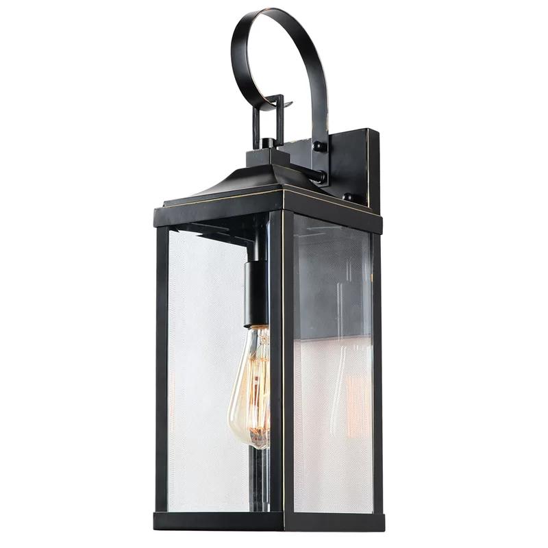 Josef Imperial Black 19 4 H Outdoor Wall Lantern In 2021 Outdoor Wall Lantern Lantern Sconce Wall Lantern
