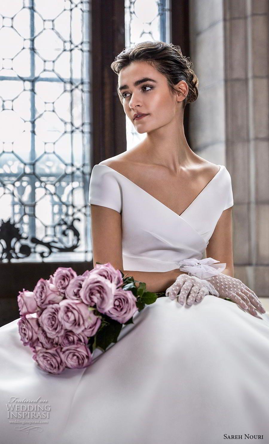 Sareh Nouri Spring 2020 Wedding Dresses The Royal Bridal