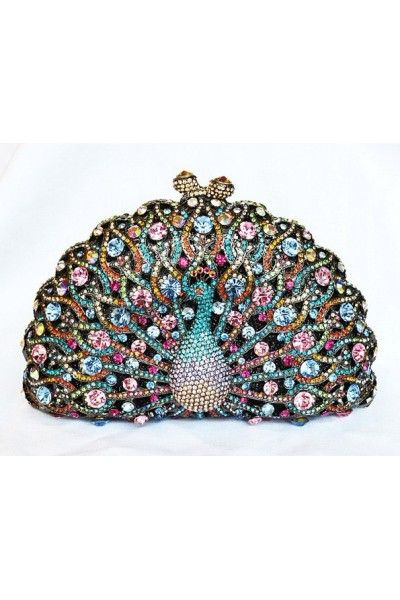 92434e67d5dd Judith Leiber Peacock Swarovski Crystal Evening Party Clutch. In case you  ever go out as a peacock! LOL j. Thank you I do think this Is wearing art