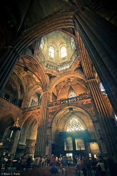La Catedral De Barcelona Interior Barcelona Architecture Cathedral Beautiful Architecture