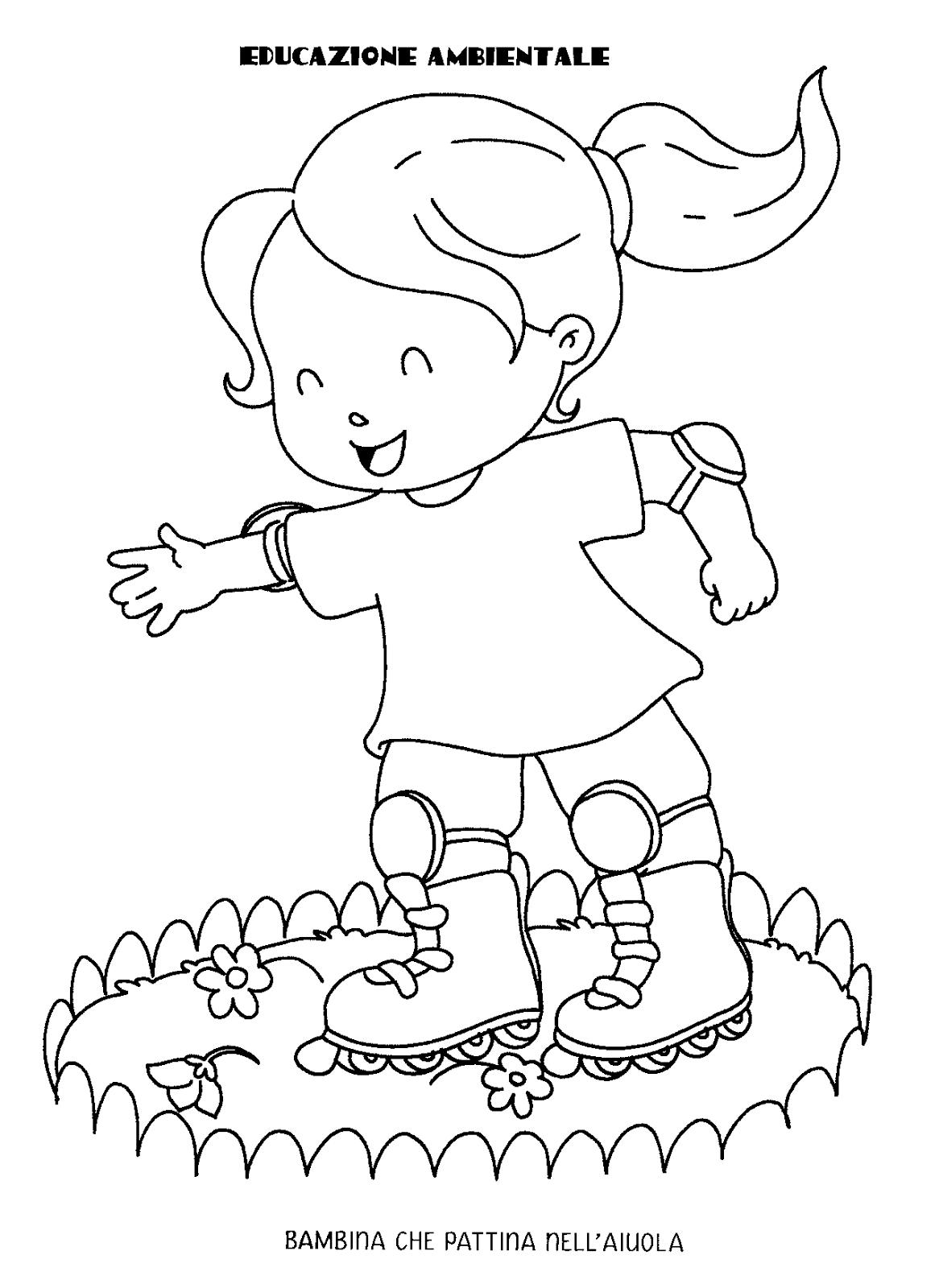 Blog scuola schede didattiche scuola dell 39 infanzia la for Disegni per la casa rispettosi dell ambiente