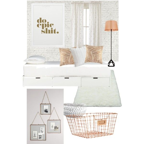 Copper And Grey Bedroom Ideas: #doepicshit #bedroom #white #copper #neutral #serene